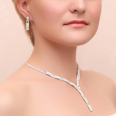Damen Anderen Schmuck-Set Ohrringe / Halsketten - Regulär Silber Für Hochzeit / Party / Besondere Anlässe