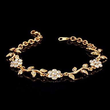 Damen Klar - Kette Armbänder Gold / Silber Für Hochzeit Party Besondere Anlässe