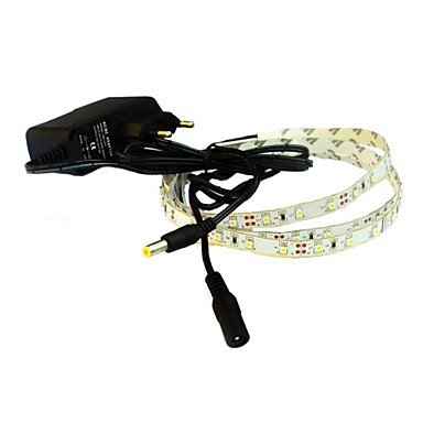 1m Fâșii De Becuri LEd Flexibile 60 LED-uri Alb Cald