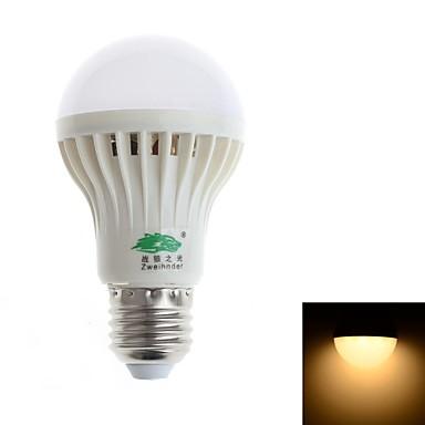 E26/E27 Bulb LED Glob A60(A19) 18 led-uri SMD 3528 Decorativ Alb Cald 480-500lm 3000-3500K AC 85-265V