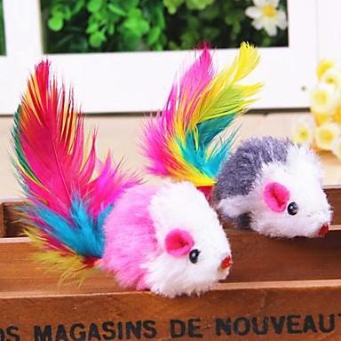 Pene pt Pisici Jucării pt Pisici Mouse textil Pentru Pisici Pisicuță