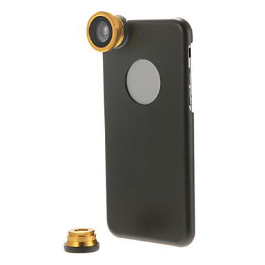 3-în-1 Kit obiectiv cu caz cellphone pentru iPhone 6 plus (culori asortate)