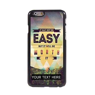 cazul în care telefonul personalizate - Nu este usor, dar merita caz de metal de design pentru iPhone 6 plus