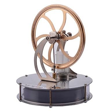 LJKGDQ Stirling Motor Modell eines Maschinen-Motors Sets zum Erforschen und Erkunden Spaß Aluminium Kinder Jungen Mädchen Spielzeuge Geschenk