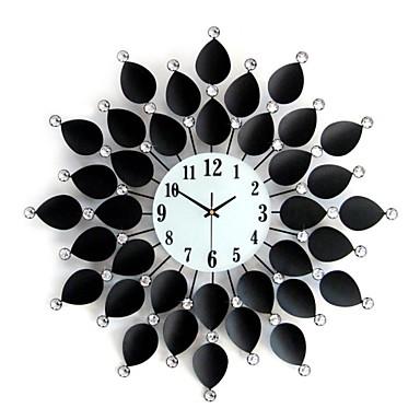 la modă creativă modernă formă noutate ceas de perete cameră de zi