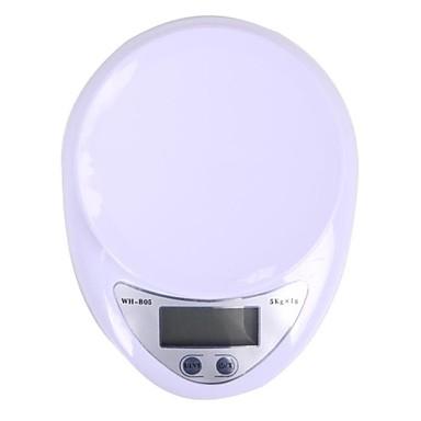 megoodo digital kjøkkenvekt (5kg max / 1g oppløsning)