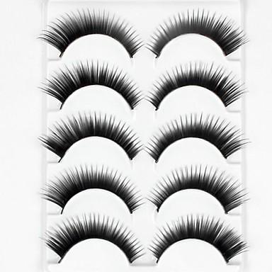 Augenwimpern Falsche Wimpern 10 pcs Voluminisierung Locken Faser Alltag Dick Natürlich lang - Bilden Alltag Make-up Party Make-up Kosmetikum Pflegezubehör