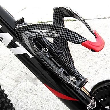 abordables Accessoires de Vélo-Vélo Bouteille d'eau Cage Fibre de carbone Poids Léger Pour Cyclisme Vélo de Route Vélo tout terrain / VTT Fibre de carbone Plein carbone Noir