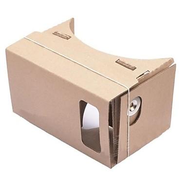 carton diy realitate virtuala ochelari 3D pentru iPhone 5s / Samsung Galaxy mini s4 / s3 mini / nokia / lg / moto