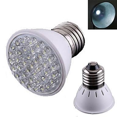E26/E27 LED Spotlight 38 Dip LED 120lm Warm White 3000K-3500K AC 110-130V