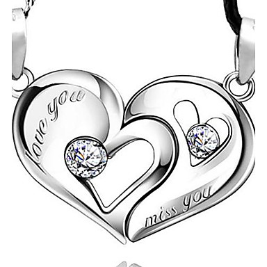 Women's Pendant Sterling Silver Silver Love Fashion Jewelry For Daily
