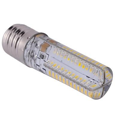 E17 LED лампы типа Корн T 104 SMD 3014 600 lm Тёплый белый AC 110-130 V