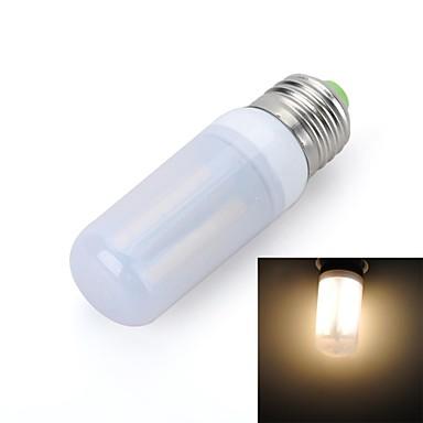 E26/E27 LED лампы типа Корн T 56 светодиоды SMD 5050 Тёплый белый 800-900lm 3000-3500K AC 220-240V