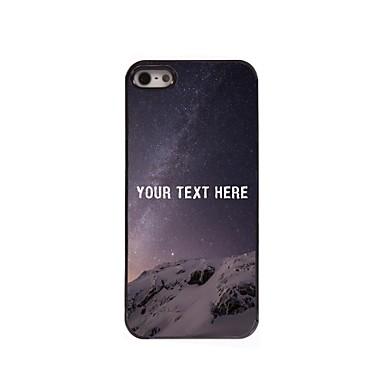 gepersonaliseerde telefoon case - woestijn ontwerp metalen behuizing voor de iPhone 5 / 5s