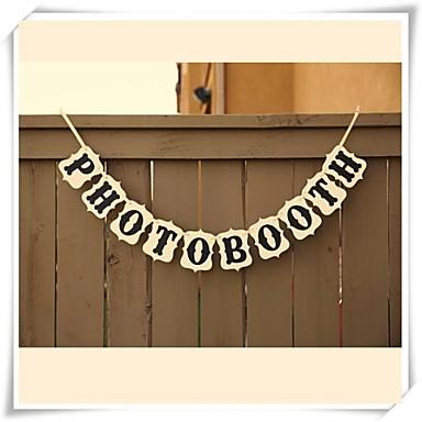 Christmas / Halloween / Birthday / Graduation / Bridal Shower / Prom / Baby Shower Hard Card Paper Wedding Decorations Classic Theme