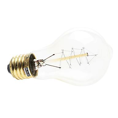 1pc 4W 200-260 lm E26/E27 LED Küre Ampuller 1 led Sıcak Beyaz AC 220-240V