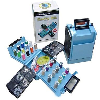 Portable Mini Folding Compact Sewing Box Kit