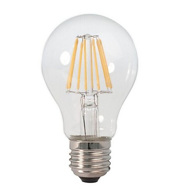 E26/E27 LED Globe Bulbs A60(A19) 8 COB 800 lm Warm White Decorative AC 220-240 V