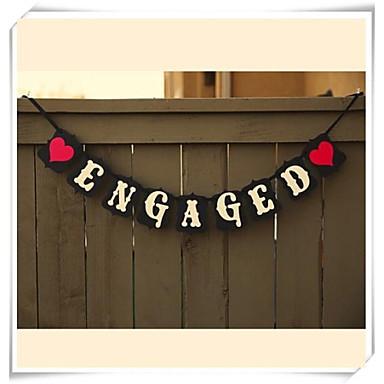 Свадебные прием Плотная бумага Смешанные материалы Свадебные украшения Классика Зима Весна Лето Осень Все сезоны
