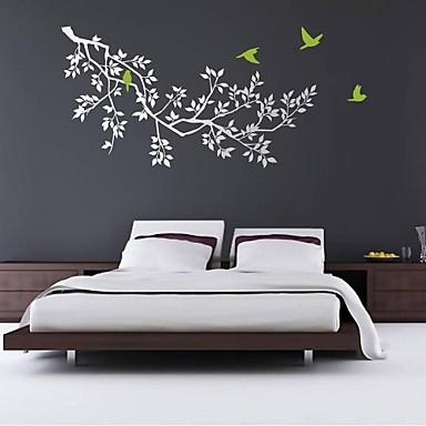 Abstract Oameni Natură moartă Modă Forme Fantezie Botanic Perete Postituri Autocolante perete plane Autocolante de Perete Decorative,