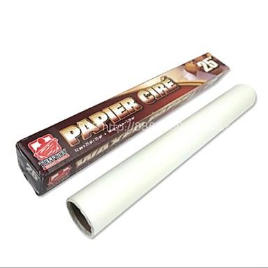 Бумага для выпечки, 500 × 30 × 1 см (196,9 × 11,8 × 0,4 дюймов), 5 метров