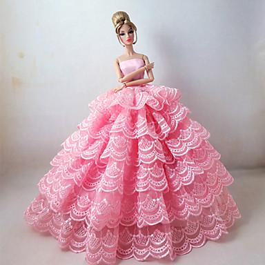 Prințesă Rochii Pentru Barbie Doll Rochii Pentru Fata lui păpușă de jucărie