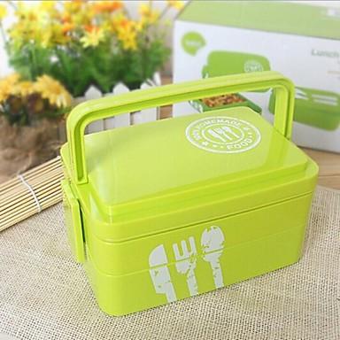 Kitchen Plastic Lunch Box