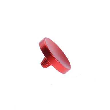 neewer® красный вогнутая металлическая мягкая кнопку спуска затвора для Fujifilm X100 Leica M6 M8 M9