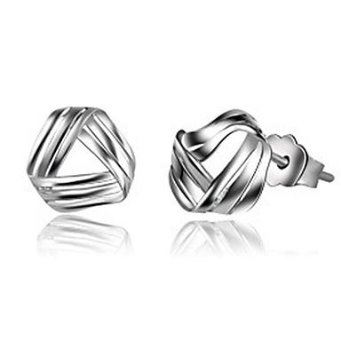 Női Beszúrós fülbevalók aranyos stílus Ezüst Ékszerek Kompatibilitás