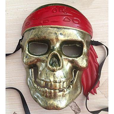 Maske Pirat Festival/Højtider Halloween Kostumer Brun Trykt mønster Maske Halloween / Karneval / Nytår Unisex PVC