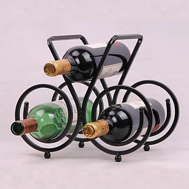 eski tasarım çelik şarap rafı tutucu çubuğu şişe raf çubuğu dekor ekran
