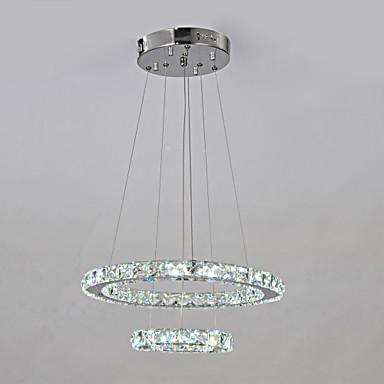 Люстры и лампы ,  Традиционный/классический Хром Особенность for Светодиодная лампа Металл Гостиная Столовая Коридор