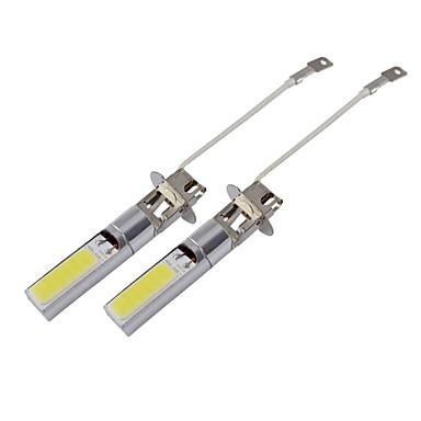 H3 12W 840lm COB LED White Car Fog Light (12V / 2 PCS)