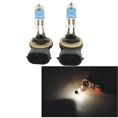 2pcs 880/881 Car Light Bulbs 100W 1100lm Headlamp / Fog Light