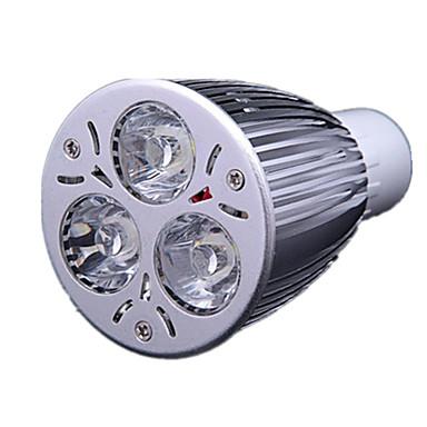 GU10 9W 700-900lm 3000-3500k meleg fehér színű led spot izzó (220 V)