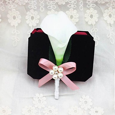 bruiloft bloemen boutonnieres bruiloft feest / avond satijnen bruiloft accessoires