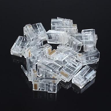 Unshielded RJ45 8P8C Network Crystal Head (20pcs)