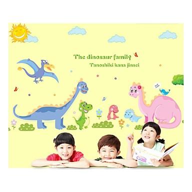 duvar çıkartmaları duvar çıkartmaları, stil Dinosauria aile pvc duvar çıkartmaları