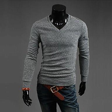 6e0c31a0ad0e férfi alkalmi divat vastag slim pulóver 2585908 2019 – $13.99
