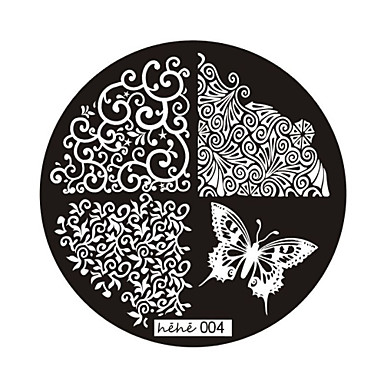 Nail Art Stamp Stamping Image Template Plate hehe Series NO.4