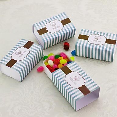 Vuosipäivä / Verjaardag / valmistuminen Feestbedankjes & cadeaus - Bedank Doosjes Linten Kaart Papier Strand Thema