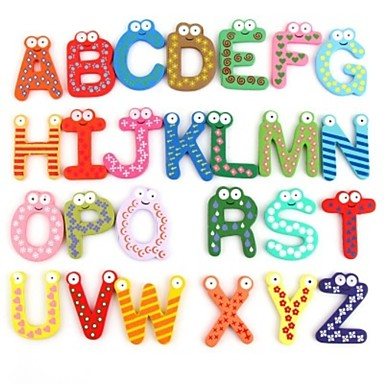 3d наклейки, английский алфавит магниты на холодильник стикер стены