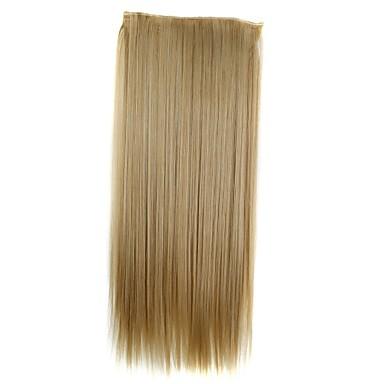 Echthaar Haarverlängerungen Klassisch Haar-Verlängerung Clip In / On Blond Alltag