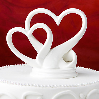 Cake Topper Garden Theme Classic Ceramic Special Occasion with Gift Box