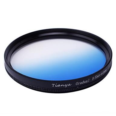 Tianya 67mm ronde afgestudeerd blauwe filter voor Nikon D7100 D7000 18-105 18-140 canon 700d 600d 18-135