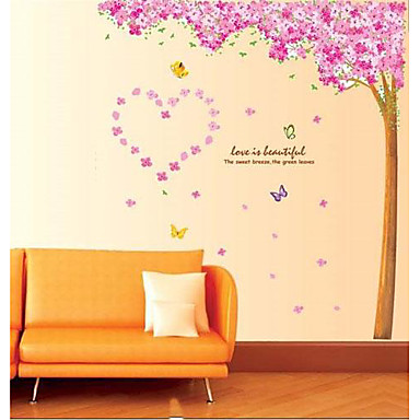 Decorative Wall Stickers - Plane Wall Stickers Animals / Romance / Fashion Living Room / Bedroom / Study Room / Office