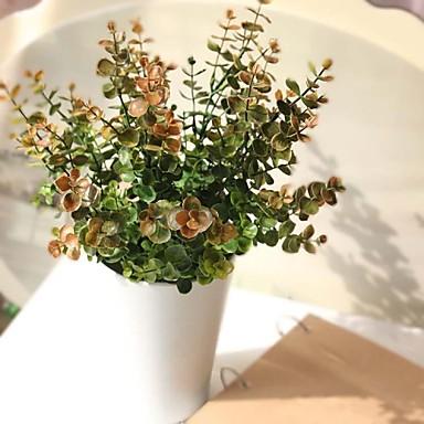 Κλαδί Πολυεστέρας Φυτά Λουλούδι για Τραπέζι Ψεύτικα λουλούδια