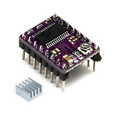 geeetech stepstick drv8825 stepper motor strømforsyning bærer RepRap 4-lags pcb + kjøleribbe