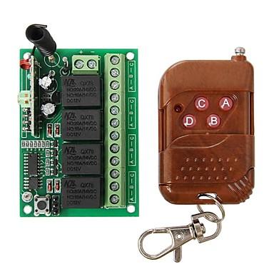 geeetech 315MHz rf 4 kanalen draadloze relais afstandsbediening module