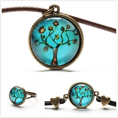 Bijoux Colliers décoratifs / Anneaux / Bracelet Soirée / Quotidien / Décontracté Alliage 1set Femme Cuivré Cadeaux de mariage